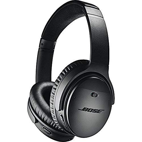 Bose QuietComfort 35 II Wireless Bluetooth Headphones, Noise-Cancelling, with Alexa voice control,...