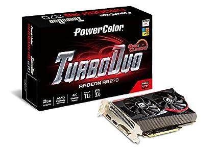 PowerColor R9 270 2GBD5-TDHE/OC - Tarjeta gráfica (Radeon R9 ...