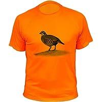 Camisetas Personalizadas de Caza, Perdiz roja - Ideas