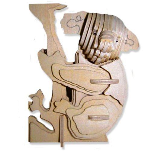 【18%OFF】 3D木製パズル 小さなコアラ - 小さなコアラ - B004QDXO5K - 小さなお子様への手頃なギフト 商品番号DCHI-WPZ-M043 B004QDXO5K, グリンファクトリー:885f1b91 --- quiltersinfo.yarnslave.com