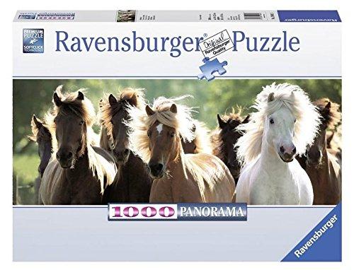 Ravensburger 1000 Piece Wild Horses Panorama Puzzle