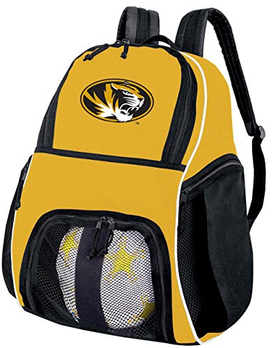 Broad Bay University of Missouri Soccer Ball Backpack or Volleyball Backpack - Practice or Travel by Broad Bay