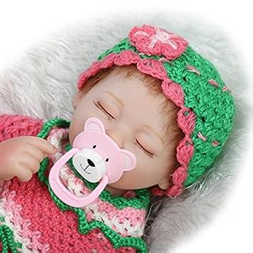 Amazon.es: NPK suave vinilo realista Reborn bebé muñeca ...