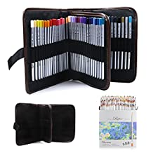 JOJOO 72-color Raffine Marco Soft Core Art Colored Pencils/ Drawing Pencils for Art Sketching/ Adult Secret Garden Coloring Book/ Manga Artbook (not included) with Pencil Wrap Case - 72 Color, MK029