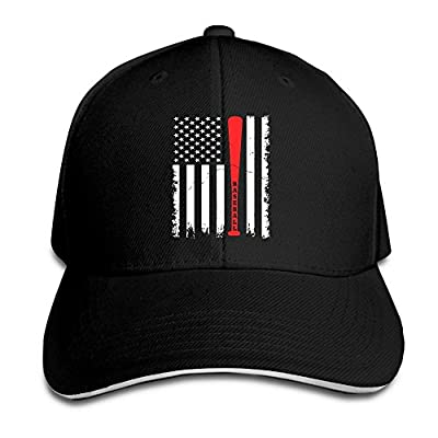 Youbah-01 Women's/Men's Baseball Flag Adult Adjustable Snapback Hats Peaked Cap
