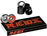 Bones Bearings Reds Bearings (8 Pack w/ Spacers & Washers)