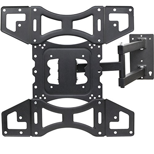 Sunnyfair TV Wall Mount Bracket with Full Motion Articulating Arm Swivel & Tilt Fits 17-45