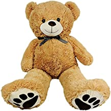 Giant Teddy Bear - Big 40 Inch Size - Huge Stuffed Animals For Valentines Gifts For Kids Him Or Her