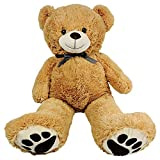 #6: Giant Teddy Bear - Big 40 Inch Size - Huge Stuffed Animals For Valentines Gifts For Kids Him Or Her