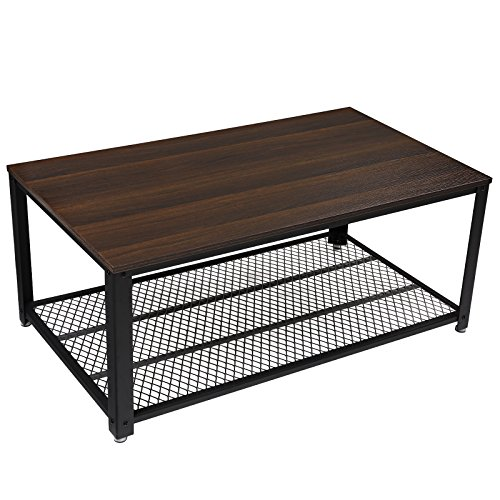 Amazon.com: SONGMICS Coffee Table, Cocktail Table With