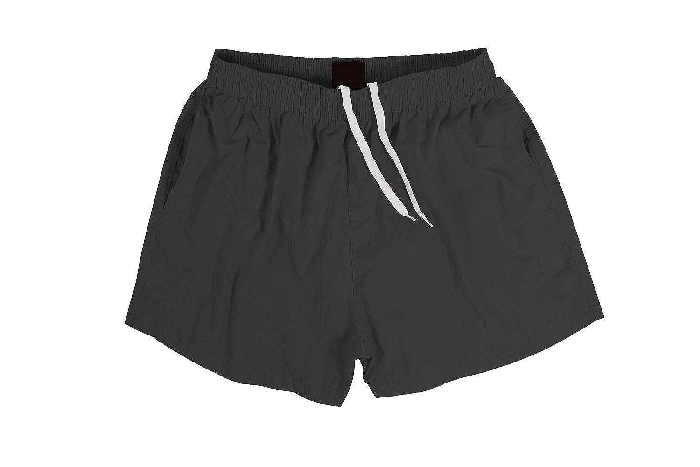 SUNDAY ROSE Sundayrose Men's Running Shorts Quick Dry Gym Training Shorts with Pockets Dark Gray L A&A NDK002