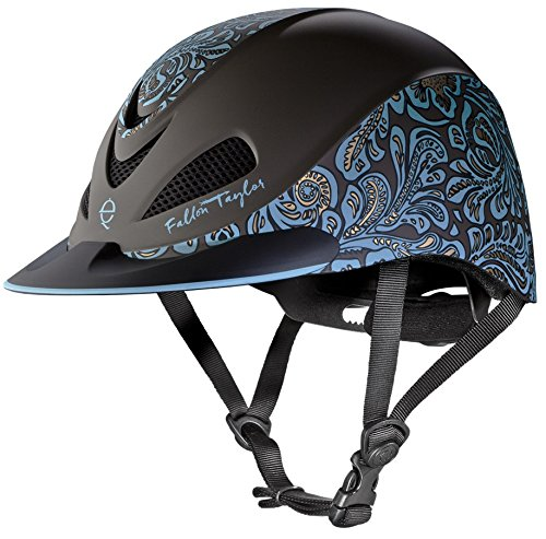 Size Chart Helmet Troxel (TROXEL TURQUOISE FLORAL ♦ DESIGNER EQUESTRIAN HELMETS by FALLON TAYLOR ♦ ASTM / SEI CERTIFICATION ♦ All Sizes (Medium))
