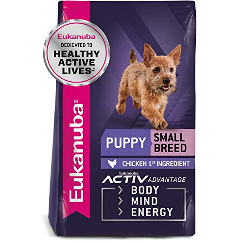 Eukanuba Puppy Small Breed Puppy Food, 5 lb
