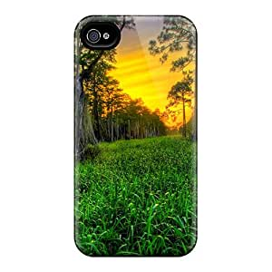 EDD GYn11793bVeA Protective Case For Iphone 4/4s(sunset In Woods)