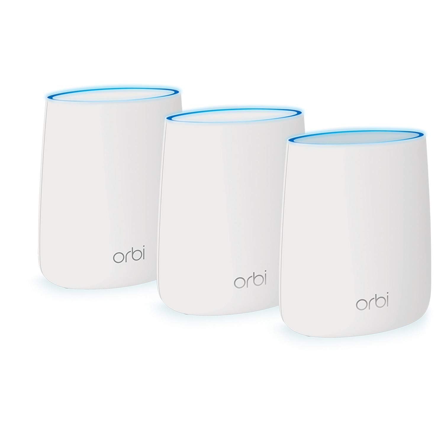 Orbi AC3000 Tri-band WiFi System Router Coverage up to 7,500 sq ft (RBK53) by NETGEAR
