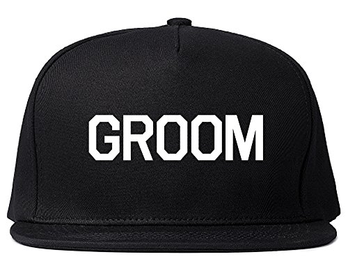 The Groom Bachelor Party Snapback Hat Cap Black by Kings Of NY