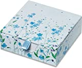 Blue Flowers Boxed Desk Notes (Stationery, Note pad)