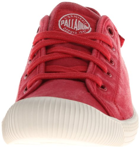 Palladium FLEX LACE Damen Sneakers Rot (RED/MRSHMLLW 627)