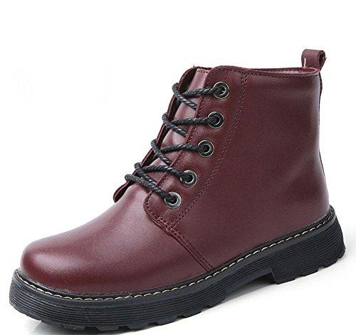además corto algodón tubo Botas marea botas cotton mujer de zapatos Martin red tibias de de de botas KESI mujer cachemira AZa8nZ