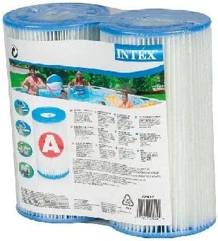 6x Cartouche filtre pour pompe de piscine Filtre Cartouche Filtres de Rechange Type A Intex 29000