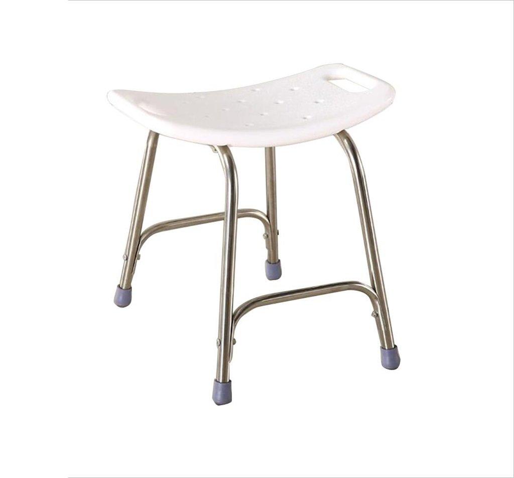 【税込?送料無料】 シャワーの椅子バスルームスツール高齢者と大人と妊婦のためのバス用スツールノンスリップホワイト B07F3YNHYW B07F3YNHYW, Filloie【フィロワ】-:7b95c8fd --- irlandskayaliteratura.org