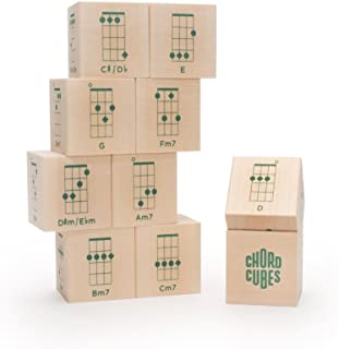 product image for Uncle Goose Chord Cubes Ukulele Blocks - Made in The USA