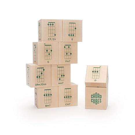Amazon Uncle Goose Chord Cubes Ukulele Blocks Made In Usa