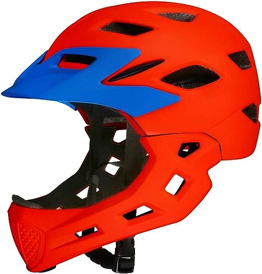 Casco para niños, Casco Completo Equipo de protección para Ciclismo Desmontable para bebés Casco de Seguridad - Casco para Bicicleta de montaña, 50-57 cm: Amazon.es: Hogar