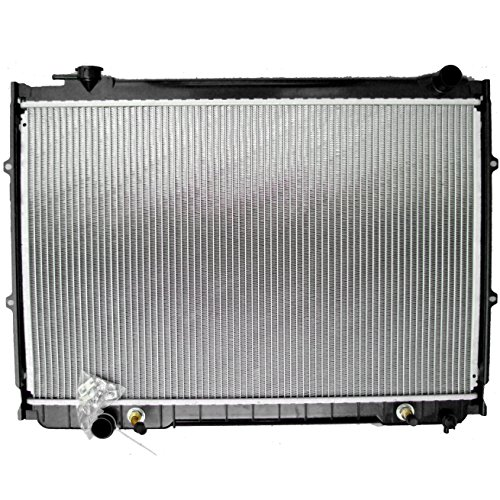 ECCPP New Aluminum Radiator 2090 Replacement fit for 1993-1998 Toyota T100 Base Extended Cab Pickup 2-Door