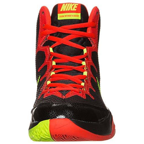 Ladies'Hoody Squad Nike Bright Fleece Full Chrm Zip Crimson Black Volt gwg4xq