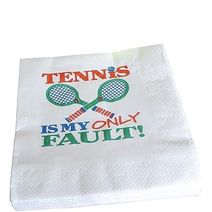 Amazon.com   Tennis Theme Cocktail Napkins-