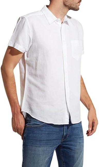 Wrangler SS 1pkt Shirt Camisa, Blanco (White O12), XXX-Large ...