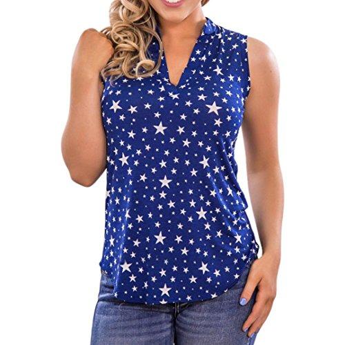 Dot Shirt Courtes Blouses T Bleu Sexy Tops t Cinnamou Femmes Occasionnel Impression Manches Dentelle 6vZnTqxSIT
