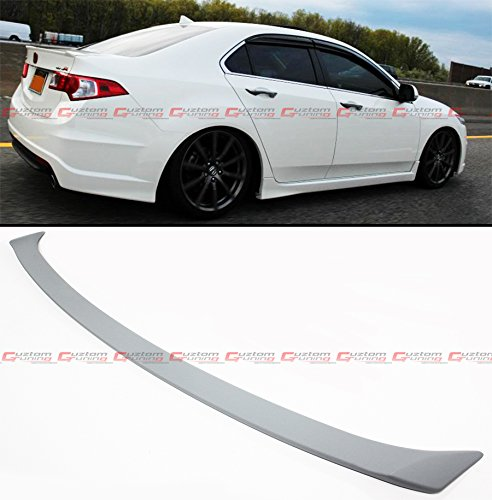 Acura Tsx Type (FOR 2009-2014 ACURA TSX EURO R(ACCORD) FACTORY SPORT FLUSH FIT REAR TRUNK DECK LID SPOILER WING)