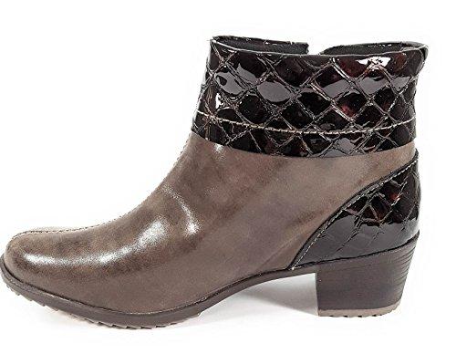 Bottes Marron Femme Suave Oui Boots 9902hc Amovible Semelle vq1w51
