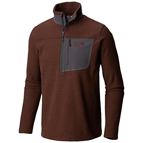 Mountain Hardwear Toasty Twill 1/2 Zip Jacket - Men's Woodsmoke X-Large