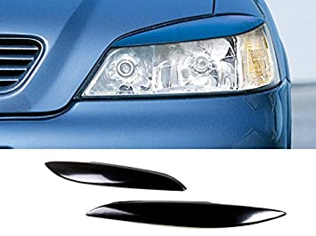 Deltalip Custom Painted Eyebrows Headlight Cover Eyelids Opel Astra G/B