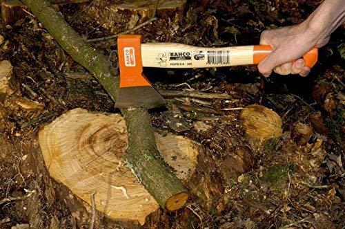 Bahco HGPS-0.6-360 - Hacha Multiusos Mango Curvado 360 Mm
