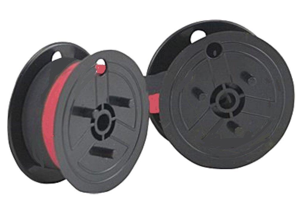 Nastro nero/rosso per Olympia CPD 5212 - Bobina nastro colorato per Olympia CPD 5212, prodotto originale Farbbandfabrik