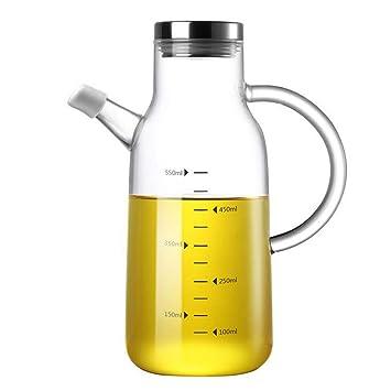 Dispensador de aceite, Botella de vidrio de aceite de oliva ...