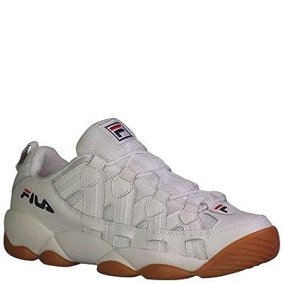 Fila Men's Spaghetti Low Fashion Sneakers White Navy/Gum 11.5 | Fashion Sneakers