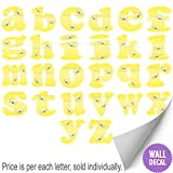 Wall Letters Yellow Bumble Bee Custom Letter