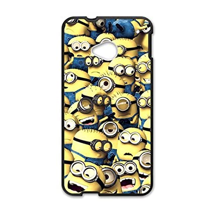 Amazon.com: Minions Cell Phone Case for HTC One M7: Cell ...