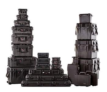 Pelican 1600 Case With Foam (Black) 4