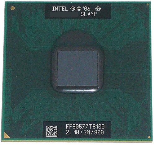2 Duo Cpu Core T8100 (INTEL SLAYP T8100 MOBILE SLAYP Intel Core 2 Duo Mobile T8100 Sockel 478 - CPU - Notebook Parts)