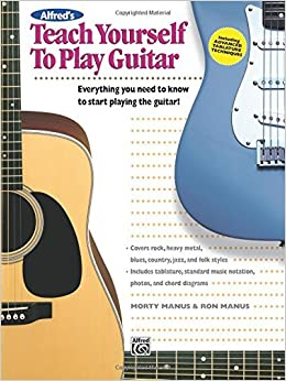 Alfred's Teach Yourself to Play Guitar: Book & Enhanced CD [With CD] by Morty Manus (2006-08-24)