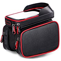 Bike Bag for Call Phone, Bicycle Front Shelf Large...
