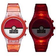 Pokemon Pokeball Kids Digital Light-Up Watch