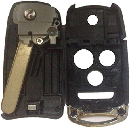 Replacement Keyless Remote Fob Key Shell Case For 2009 2010 2011 2012 2013 2014 Acura TL TSX ZDX MLBHLIK-1T MLBHLIK1T 35113-TL0-A10 ASD