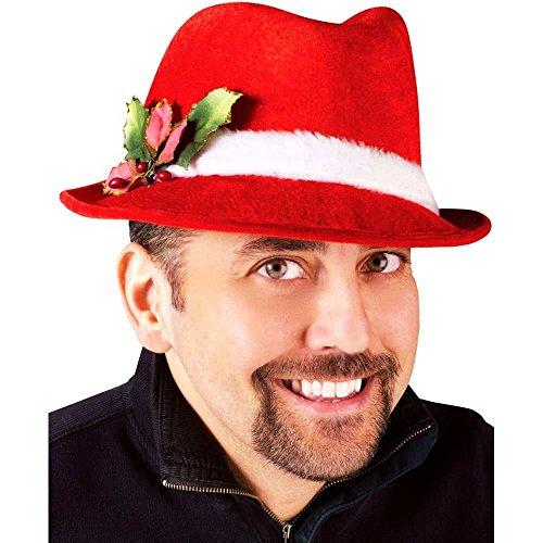 4e5ed90411ffc Slick Santa Christmas Fedora